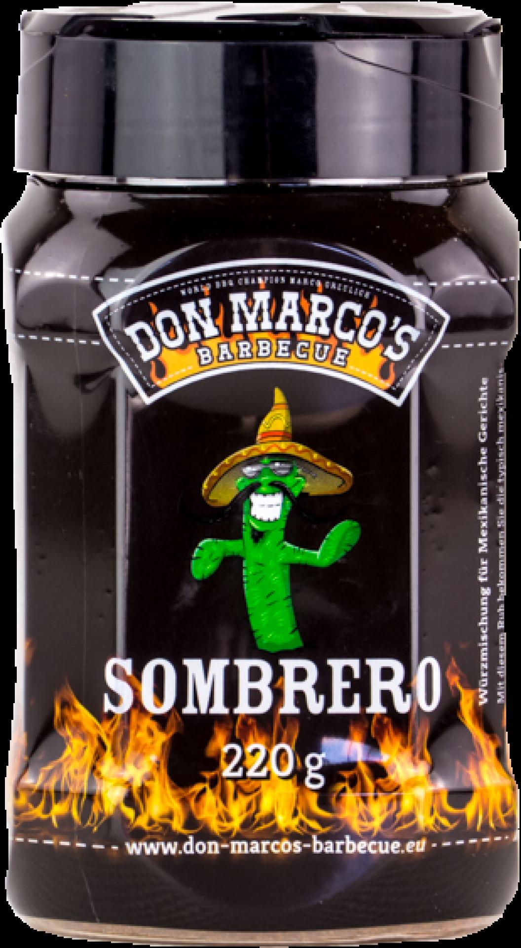 Don Marco's Sombrero Grillgewürz (PET Dose) 220g