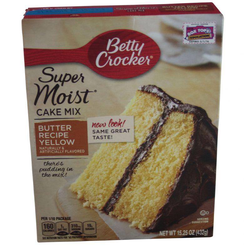 Betty Crocker Butter Recipe Yellow