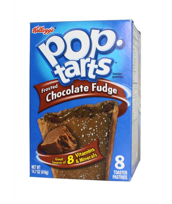 Kelloggs Poptarts Frosted Chocolate Fudge