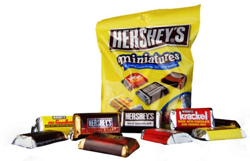 Hershey Miniatures 150G