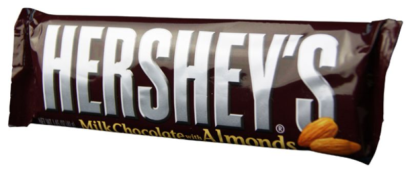 Hershey Milk Chocolate with Almonds