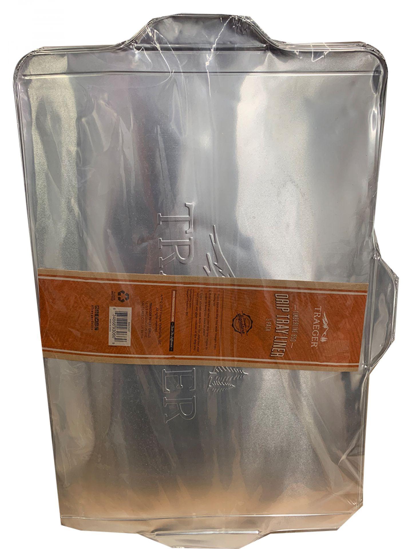 Traeger Ablaufblech-Schutzfolie für Timberline 850