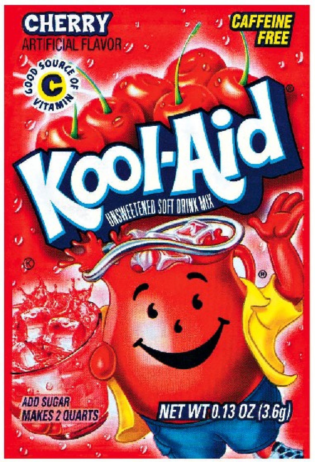 Kool Aid Instant Drink Cherry - Tüten