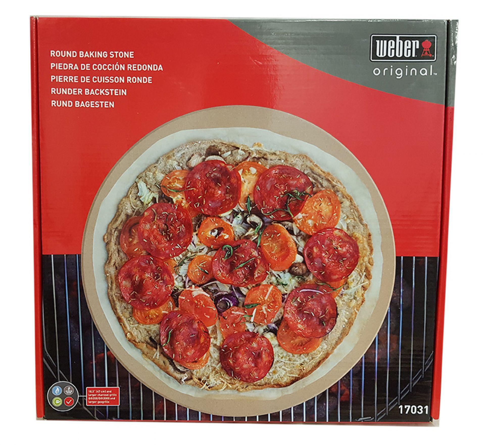 Weber - Pizzastein rund 36cm