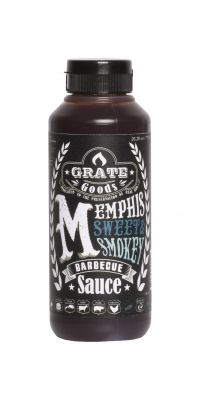 Grate Goods Memphis Sweet & Smokey BBQ Sauce 265ml
