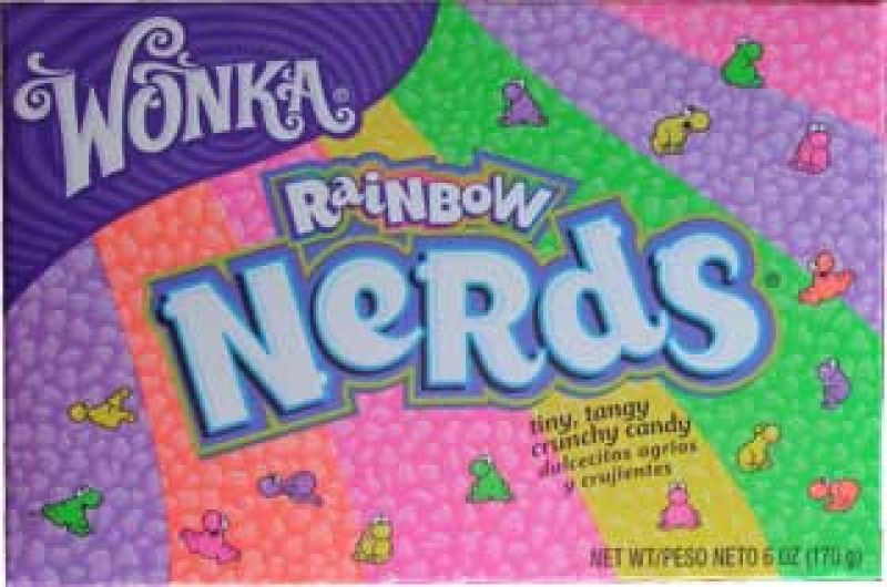 Wonka Nerds Rainbow 141,7g