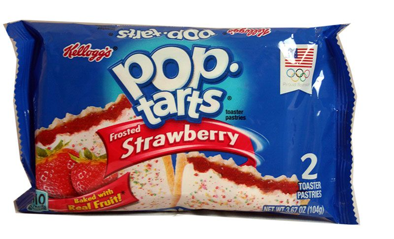Kelloggs Poptarts Frosted Strawberry Zweierpack