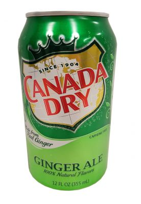 Canada Dry - Ginger Ale 355 ml (zzgl. 0,25 EUR Pfand)