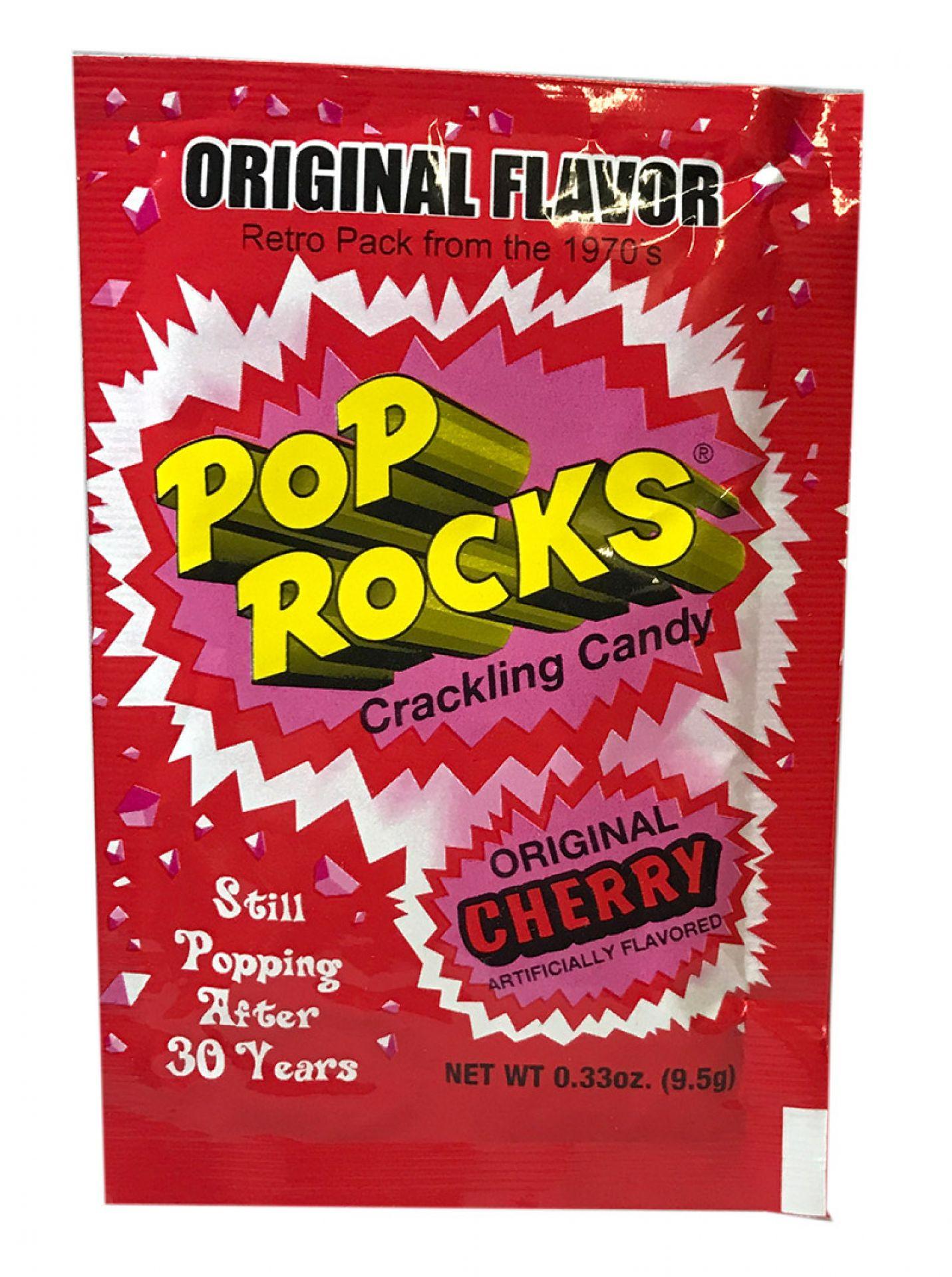 Pop Rocks Crackling Candy Cherry