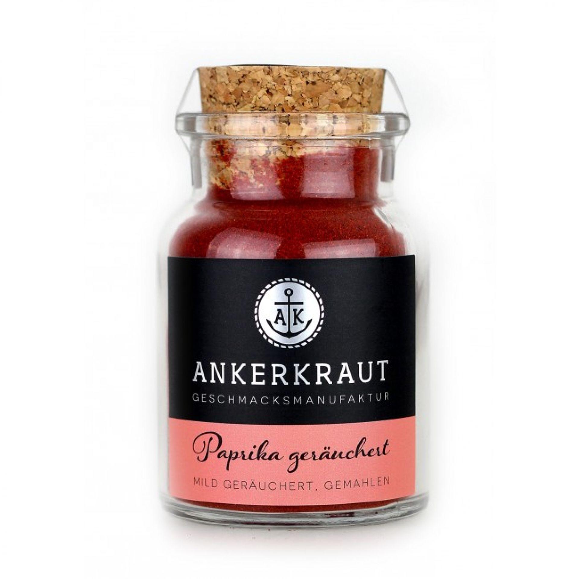 Ankerkraut Paprika geräuchert (Korkenglas) 80g