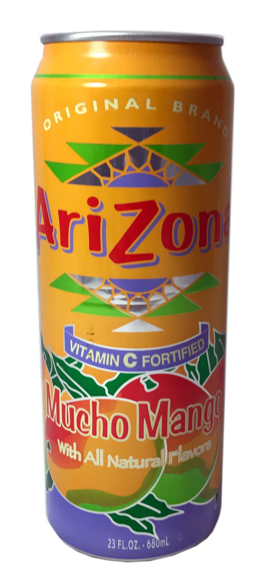 Arizona Mucho Mango (zzgl. 0,25 EUR Pfand) 680ml