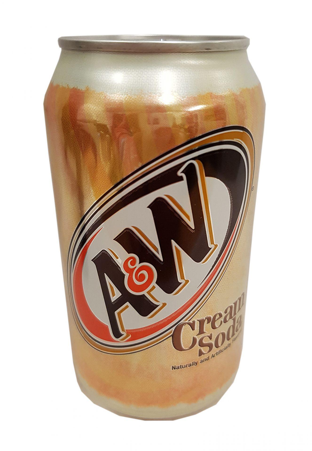 A&W Cream Soda (zzgl. 0,25 EUR Pfand)