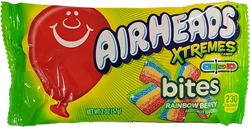 Airheads Xtremes Sourfruits Rainbow Berry Bites (57g)