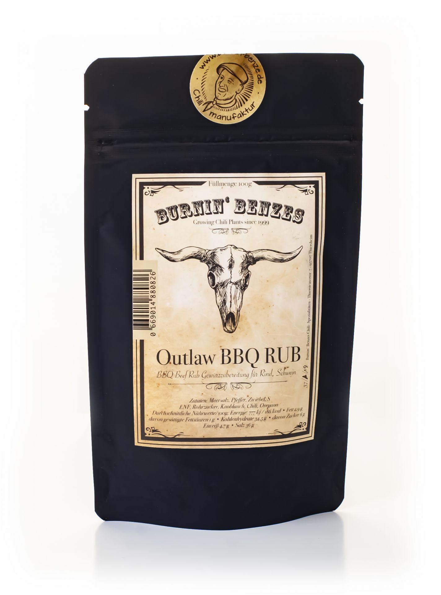 Burnin' Benzes Outlaw BBQ Rub