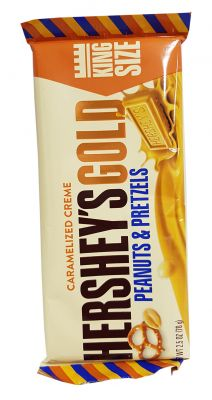 Hershey's Gold - Caramelized Creme with Peanuts & Pretzels (King Size)