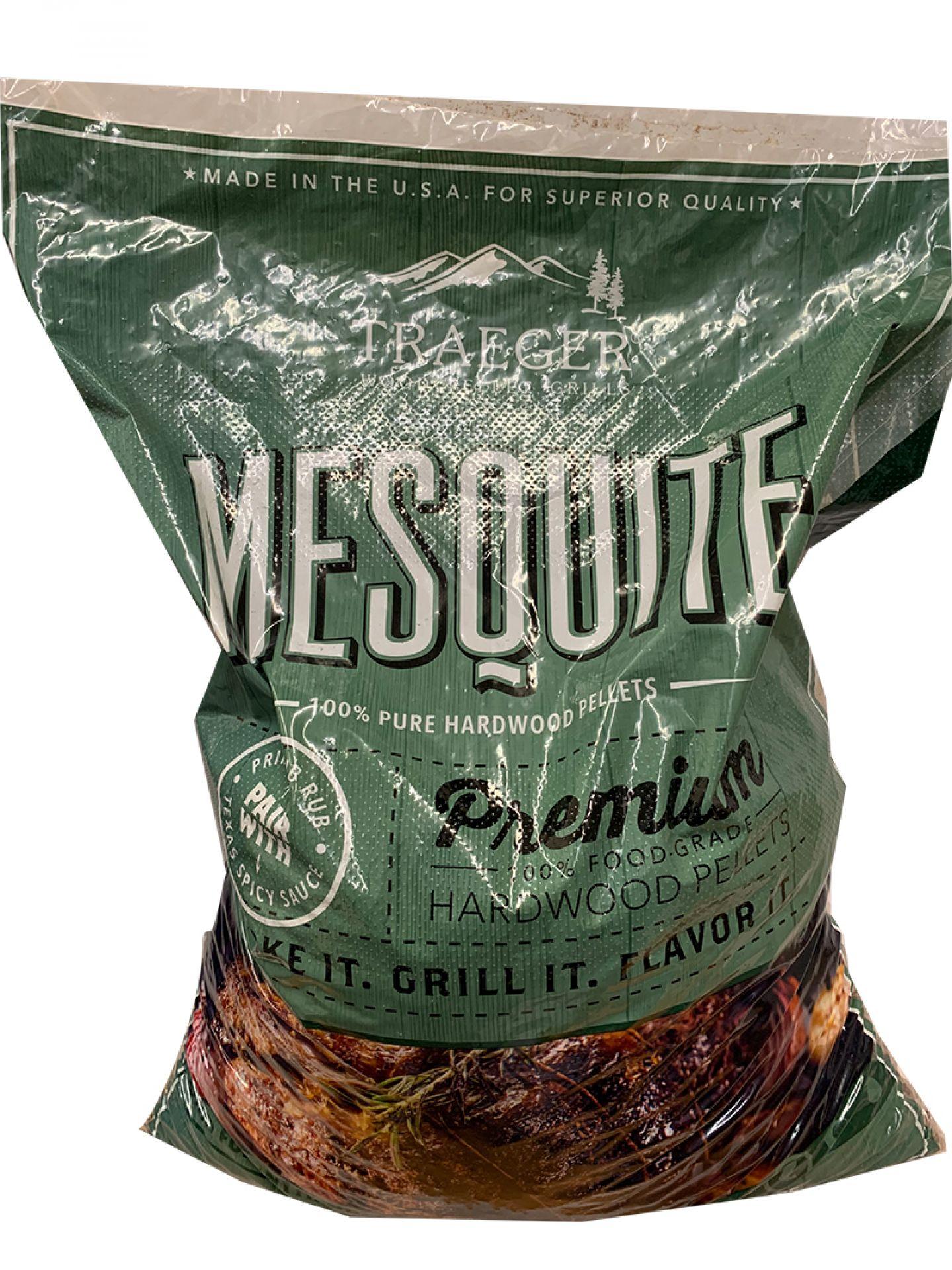 Traeger Hartholz Pellets Mesquite 9kg