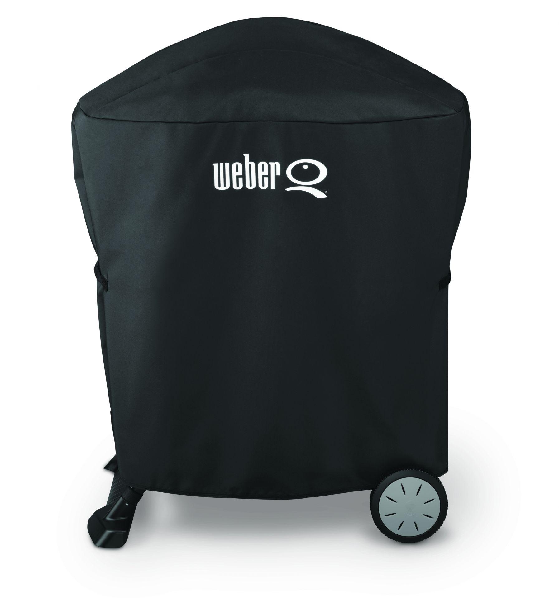 Abdeckhaube Premium für Weber Q-Serie auf Stand oder Rollwagen (nicht Station)