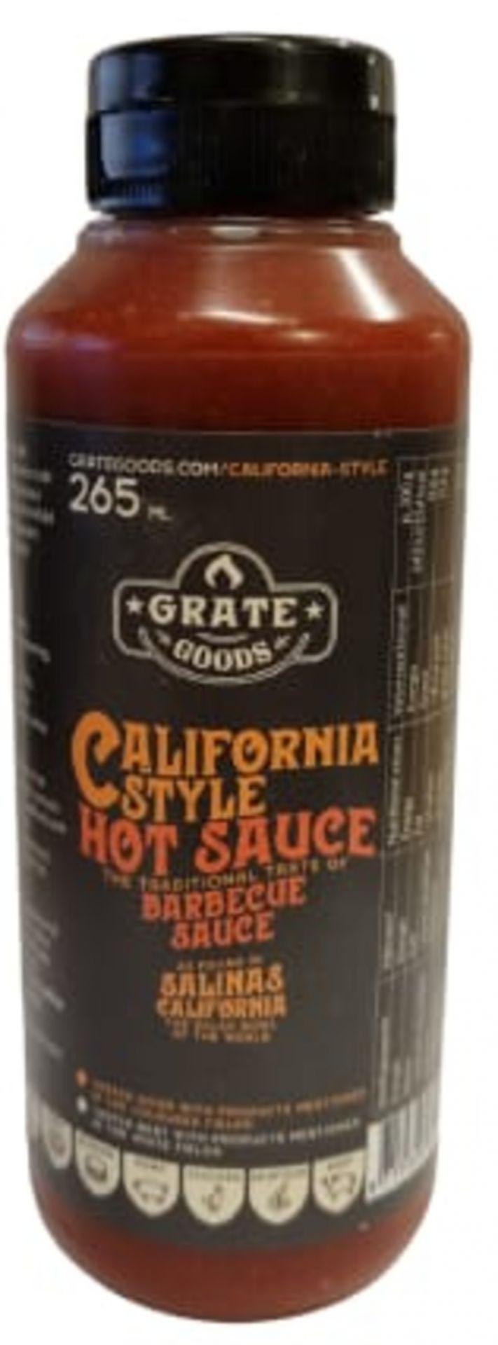 Grate Goods California Hot BBQ Sauce 265ml