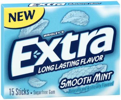 Wrigley´s Extra Smooth Mint Kaugummi