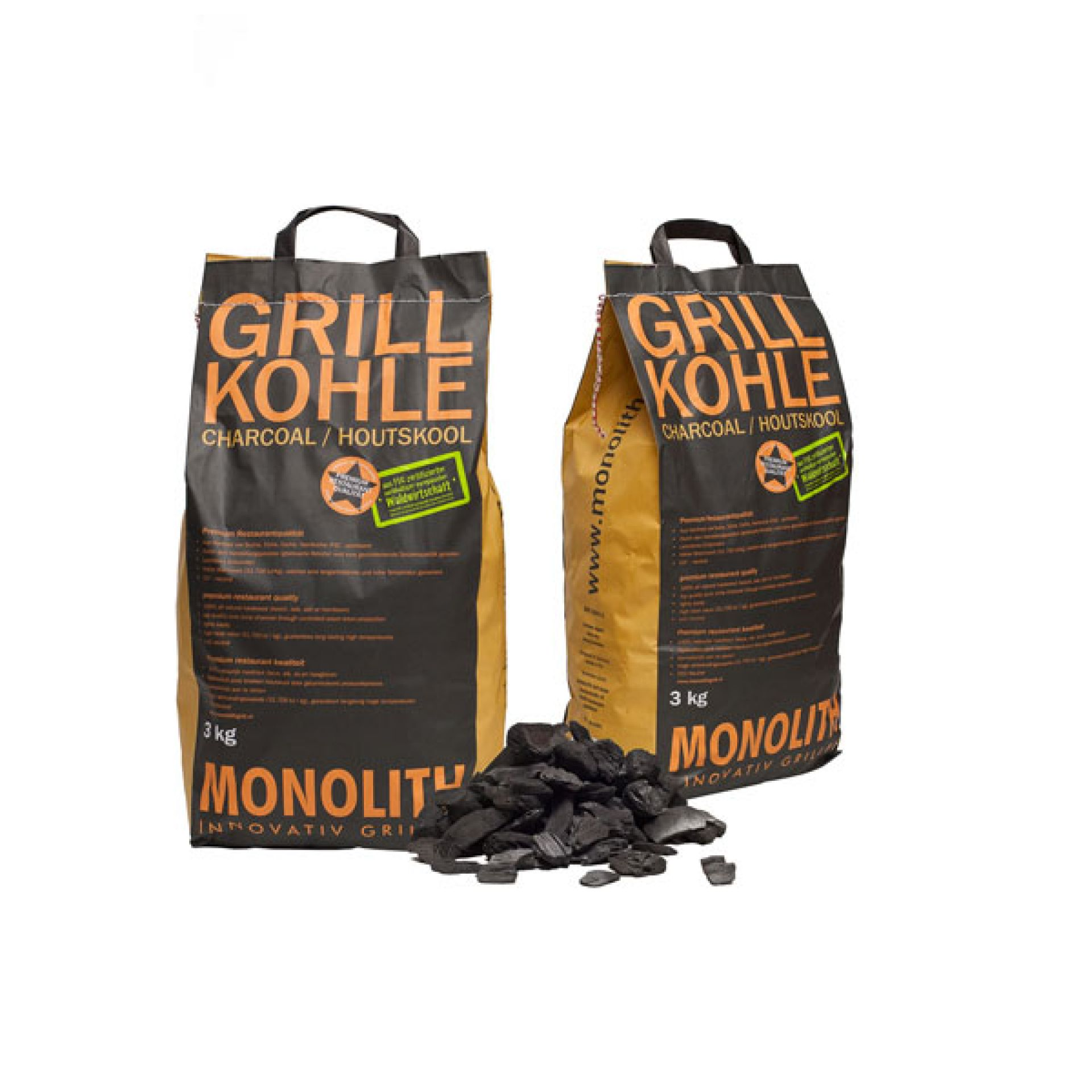 Monolith Grill Holzkohle 3 kg