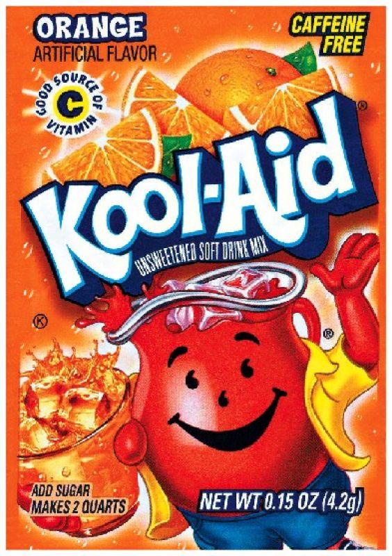 Kool Aid Instant Drink Orange - Tüten