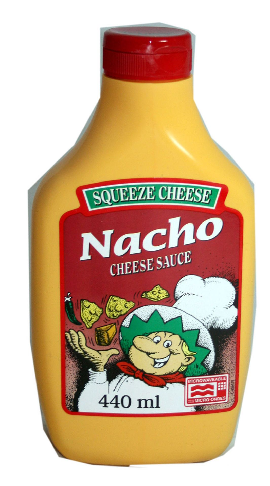 Squeeze Cheese Nacho
