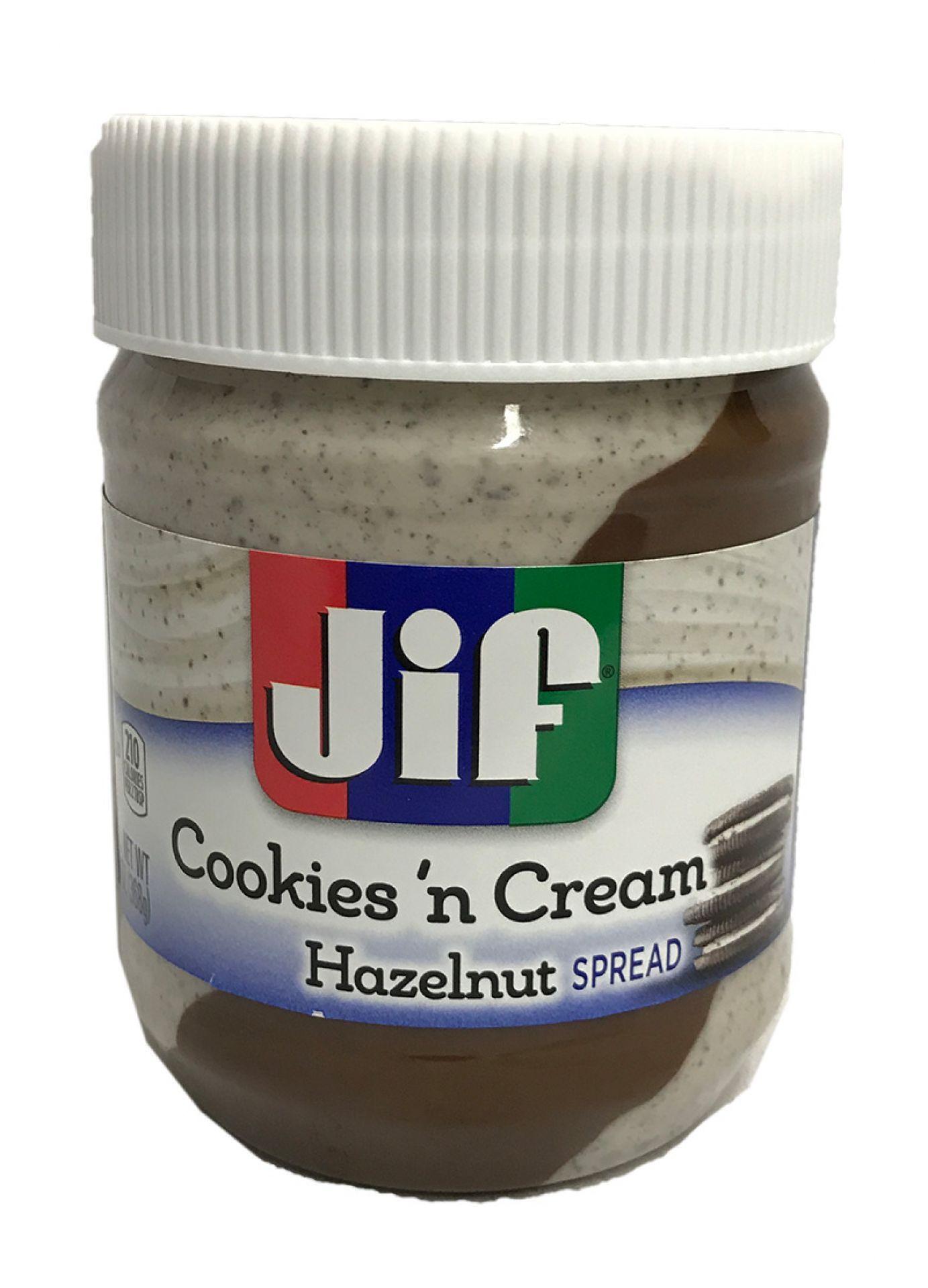 JIF Cookies 'n Cream Hazelnut Spread