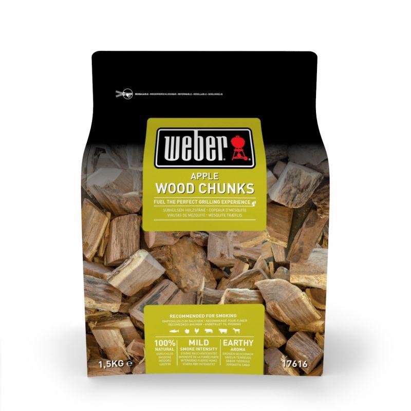 Wood Chunks Fire Spice Holzstücke aus Apfelholz
