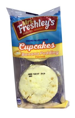 Mrs. Freshley's Cupcakes Banana Pudding Twin Pack