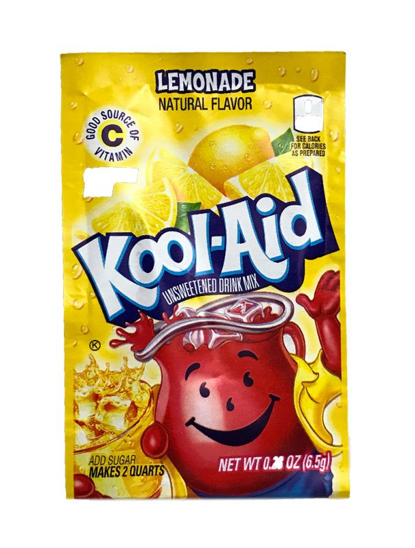 Kool Aid Instant Drink Lemonade - Tüten