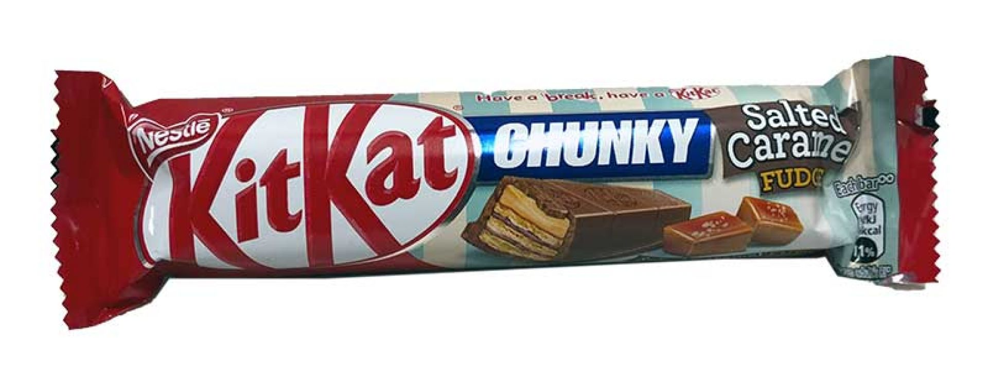 Kit Kat Chunky Salted Caramel Fudge 42g