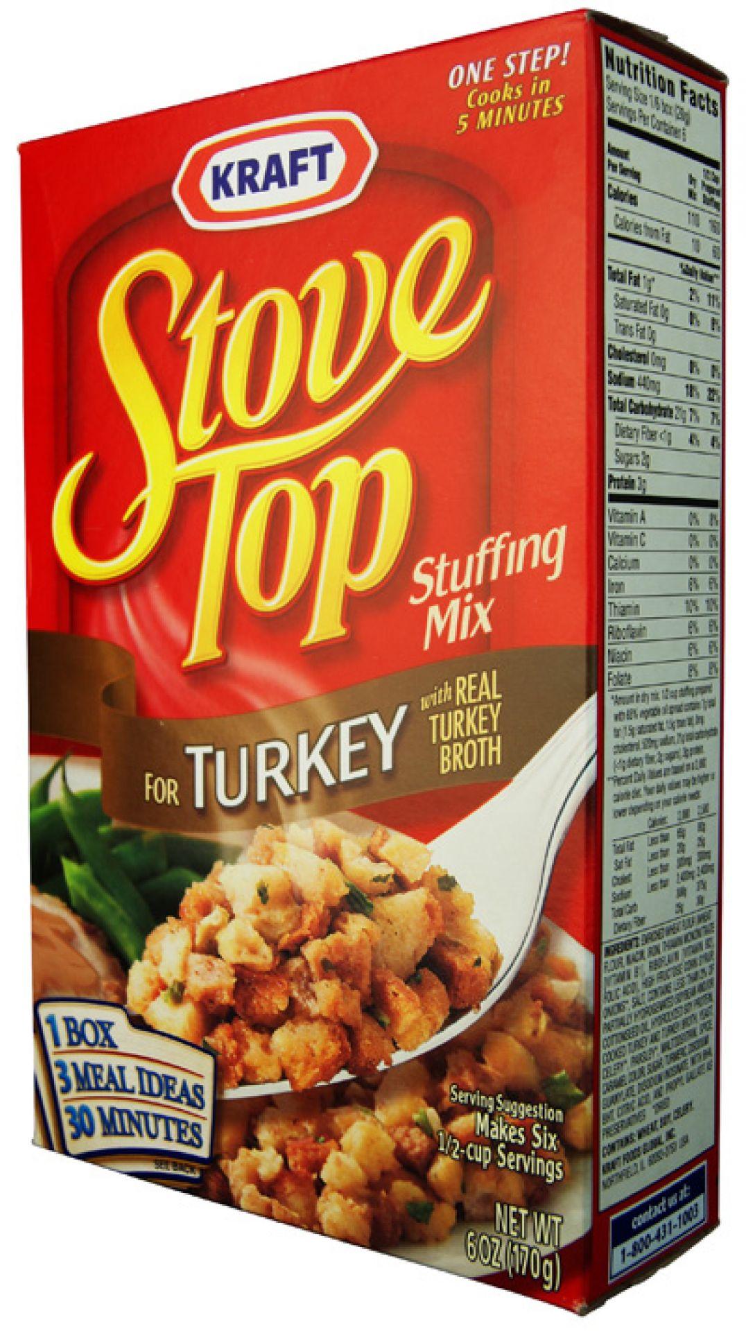 Stovetop Stuffing Turkey