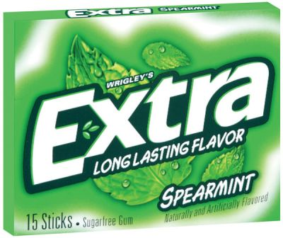 Wrigley´s Extra Spearmint Kaugummi