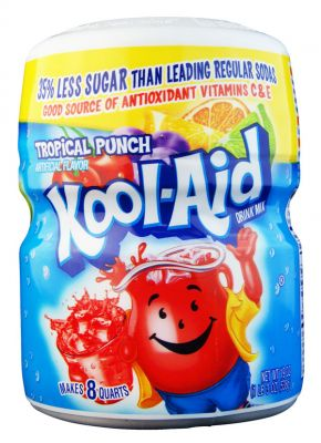 Kool Aid Barrel Tropical