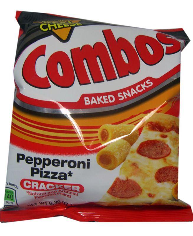 Pepperoni Pizza Cracker Combos