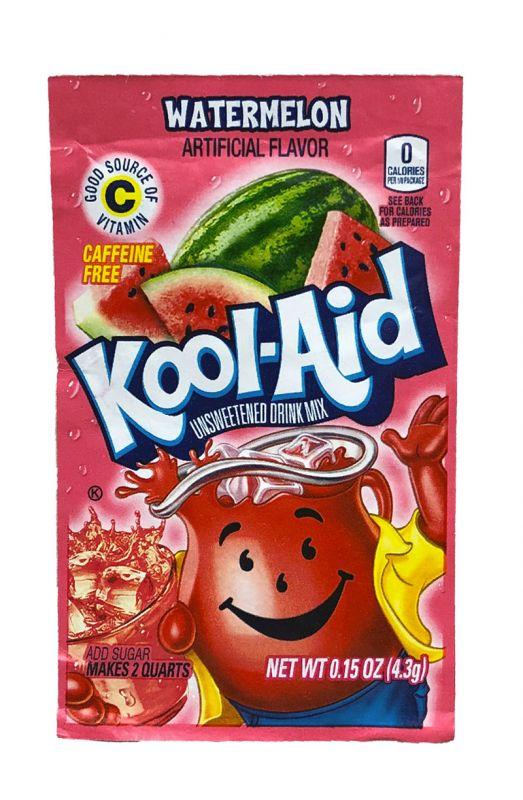 Kool Aid Instanent Drink Watermelon Tüten