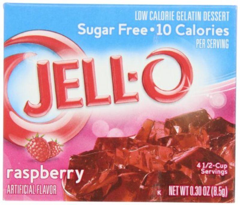 Jell-o Raspberry Sugarfree