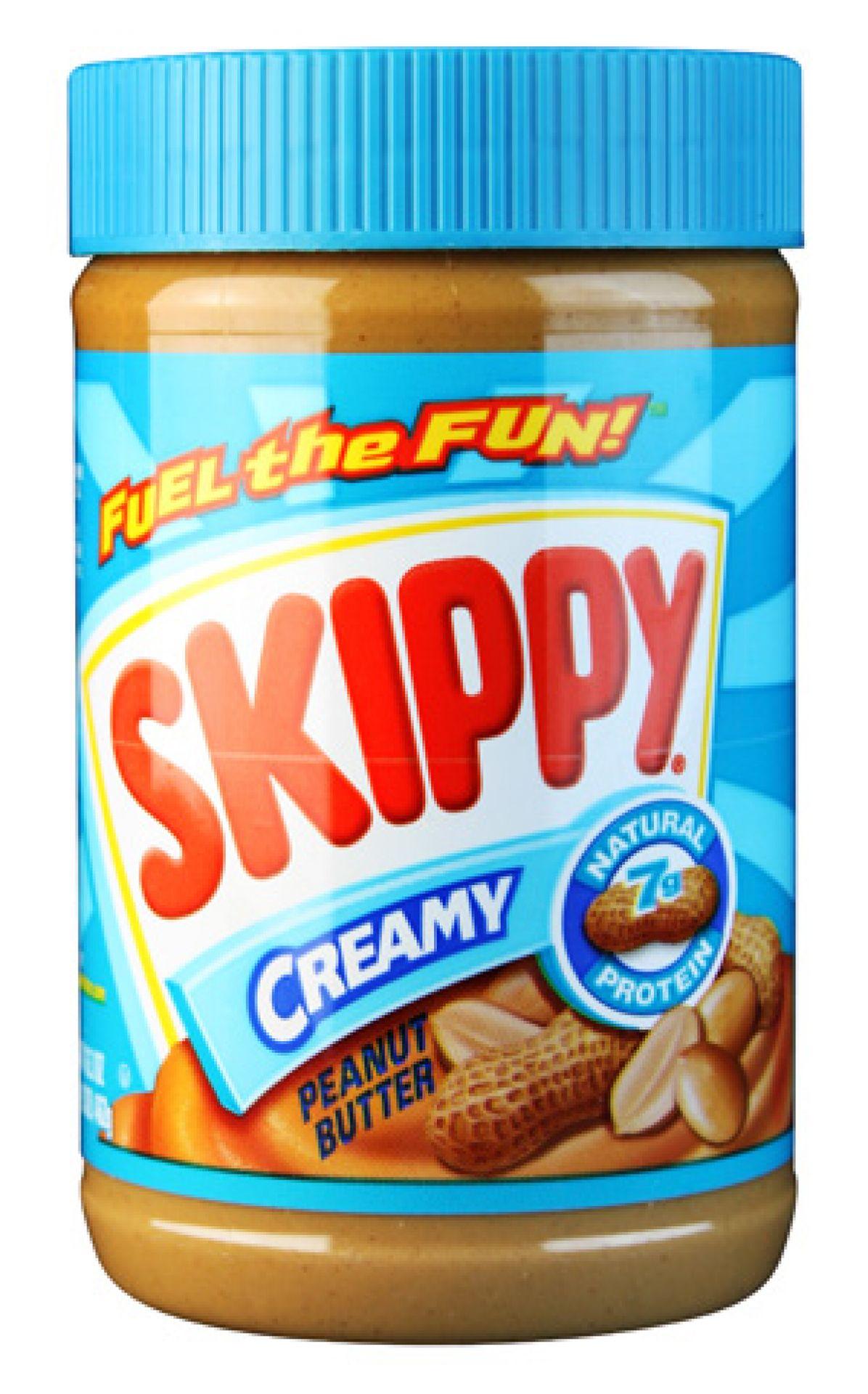 Skippy Erdnussbutter Creamy