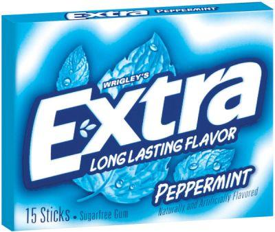 Wrigley´s Extra Peppermint Kaugummi