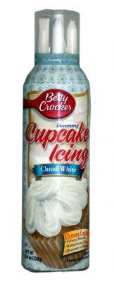 Betty Crocker Cupcake Icing Cloud White
