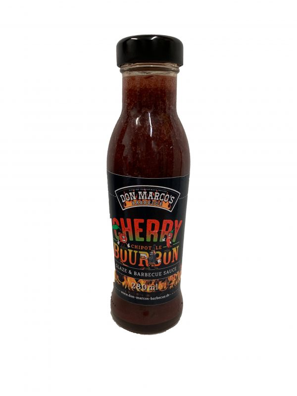 Don Marco's Cherry Chipotle Bourbon BBQ Sauce 280ml