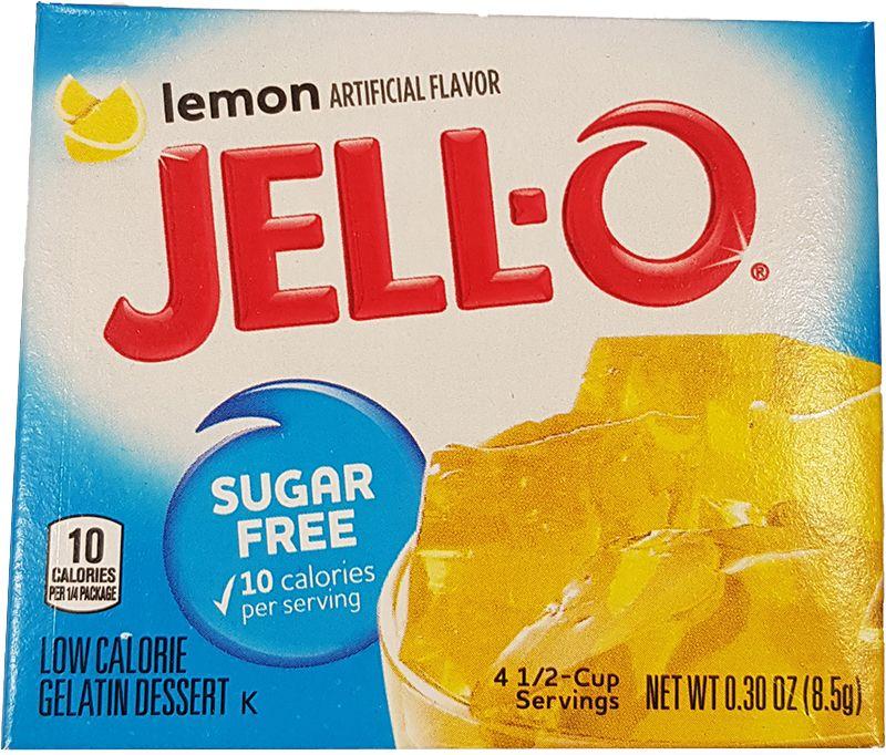 Jell-O Lemon sugarfree