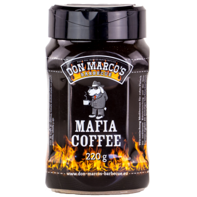 Don Marco's Mafia Coffee Rub (PET Dose) 220g