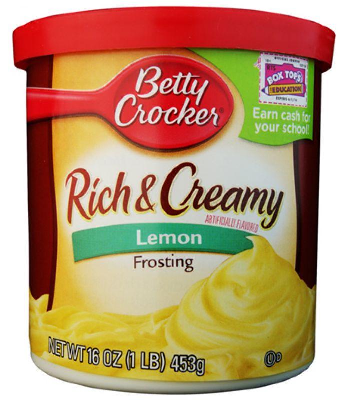 Betty Crocker Frostings Lemon