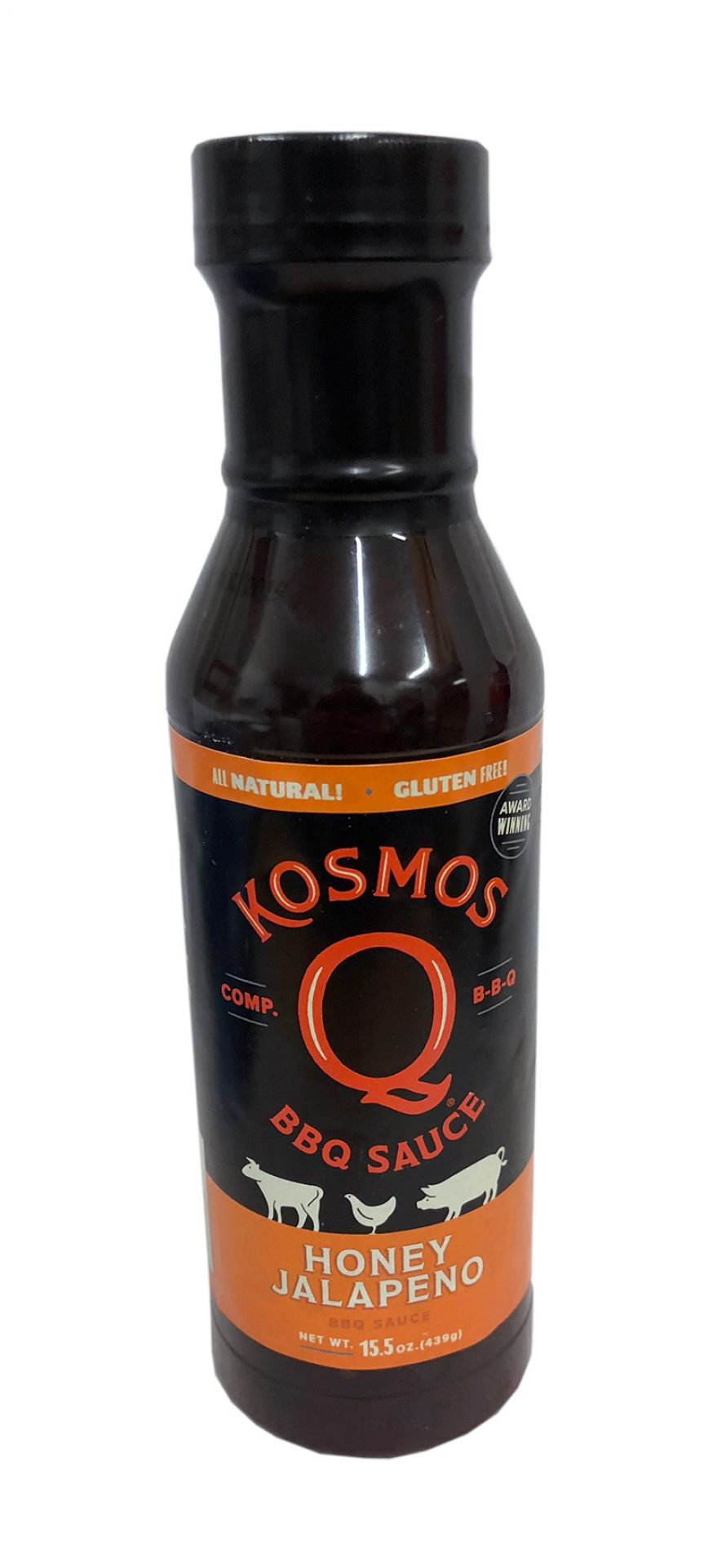 Kosmos Q Honey Jalapeno BBQ Sauce