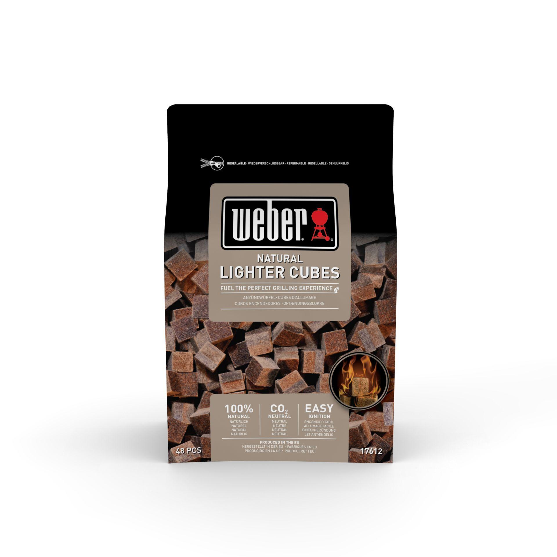 Anzündwürfel Braun - Ökologisch 48 Stück/Packung
