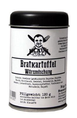 Klaus Grillt Bratkartoffel Würzer (Streuer 120g)