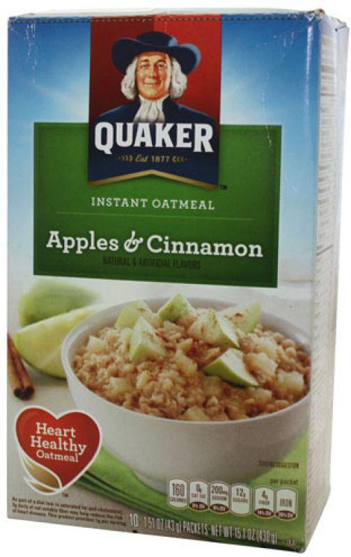 Quaker Instant Oat Apples & Cinnamon