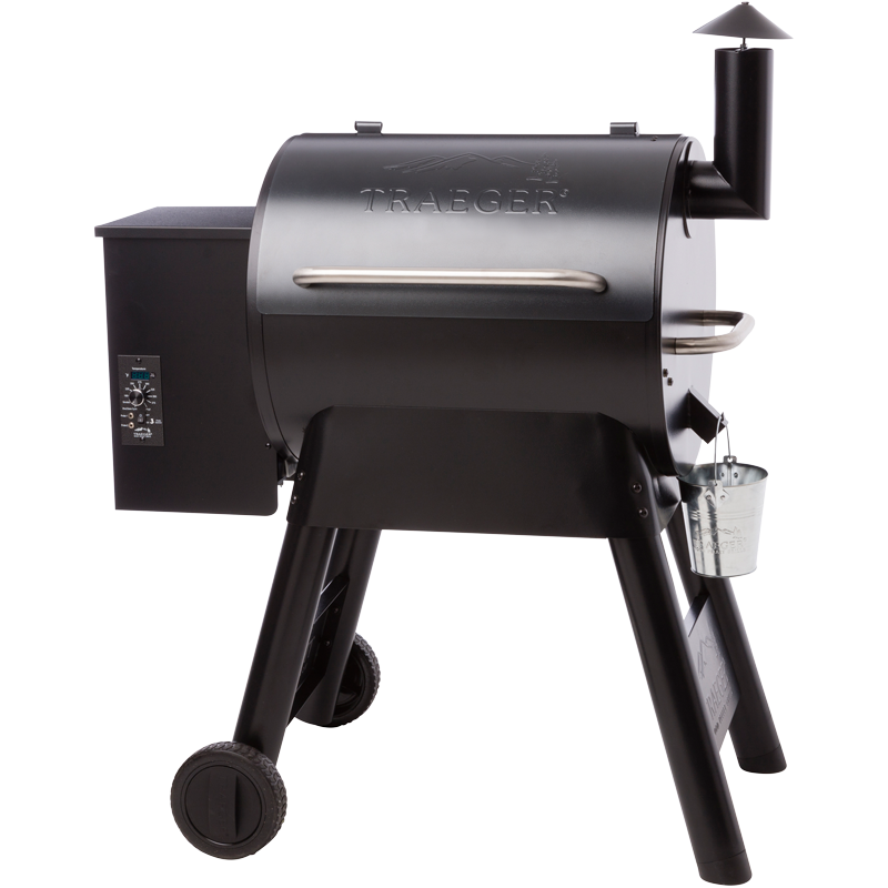 Traeger Pro Series 22 Pellet-Grill inkl. Zubehör (Modell 2018, Ausstellungsstück)