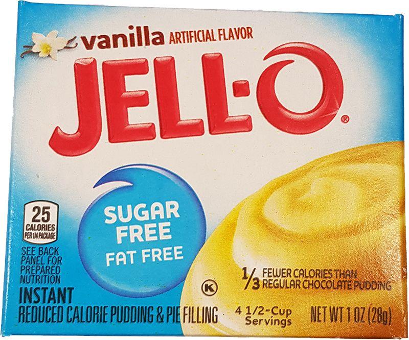 Jell-O Vanilla Pudding sugarfree